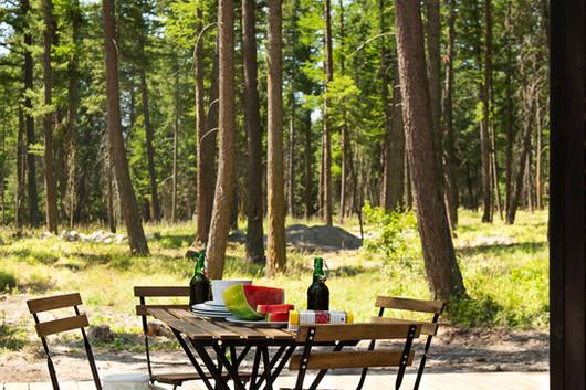 Stoner Creek Cabins Outdoor Living