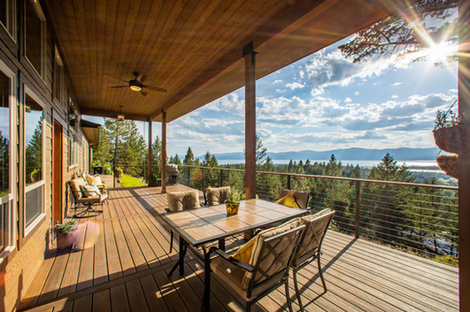 Evening Glory Deck with Views