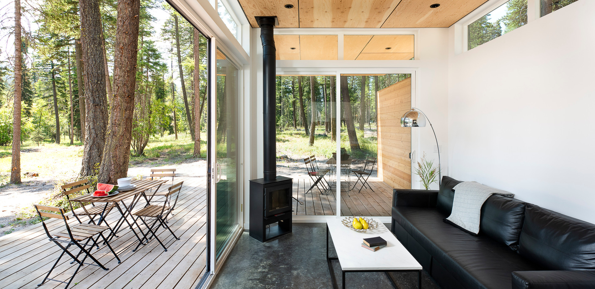 Stoner Creek Cabins Glass Open