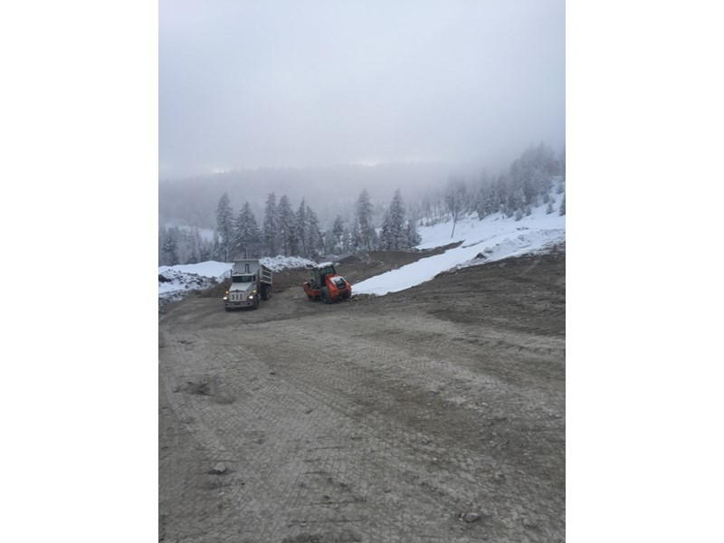 Ridgeline Cabins Roadway Project