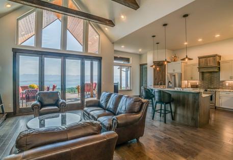 Big Bear Boulder Living Room