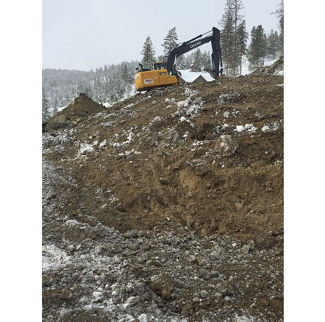 TCG Excavator at Work