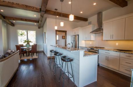 Swan Home Galley Kitchen
