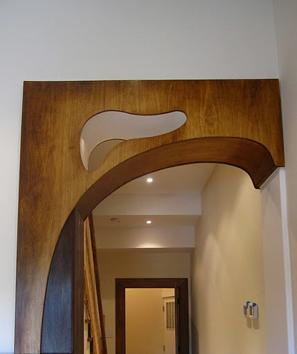 Modernist style arch 1