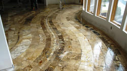 Kitchen floor design 1