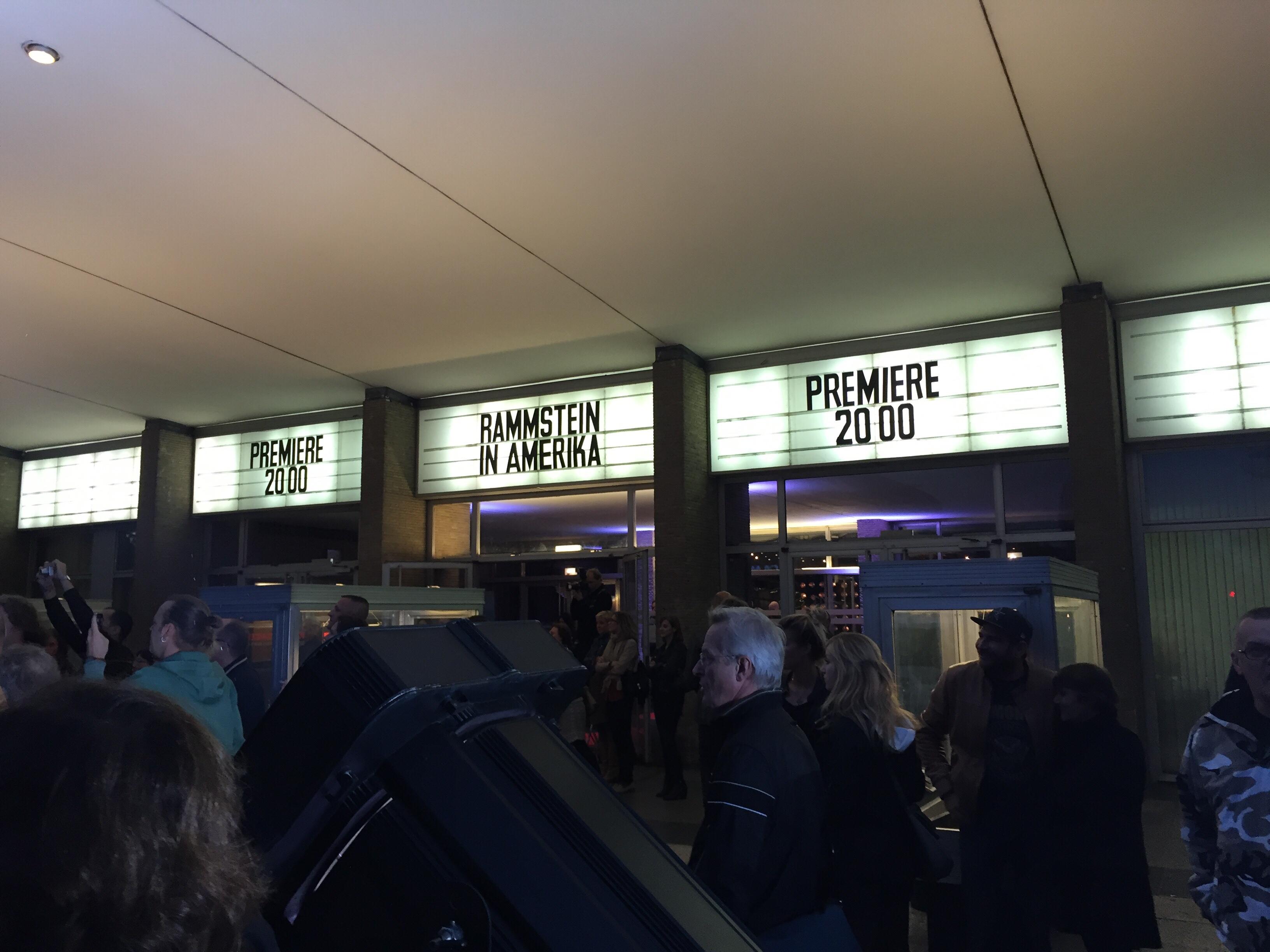 Rammstein DVD Premiere 2015