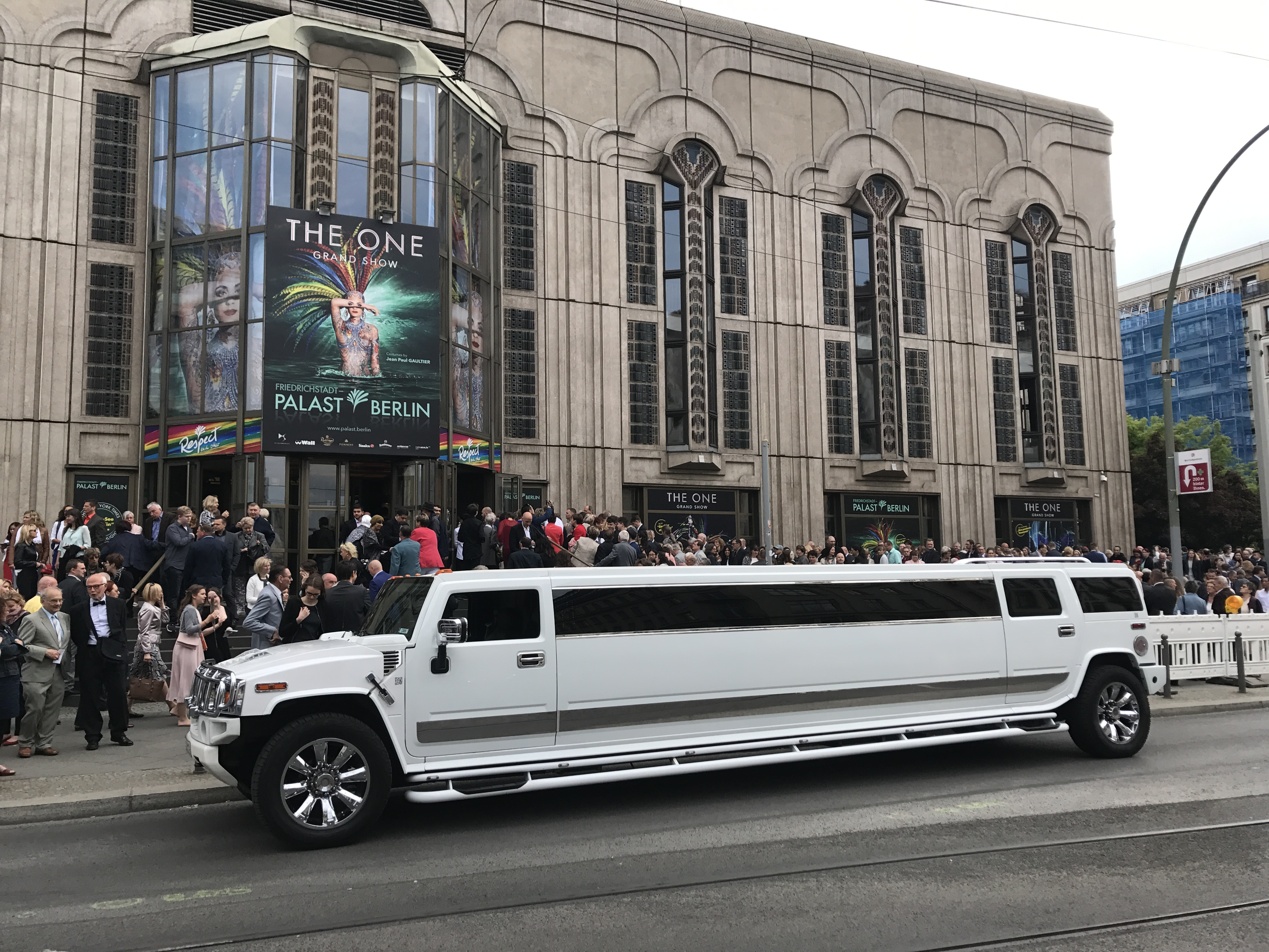 VIP Hummer H2 Stretchlimousine