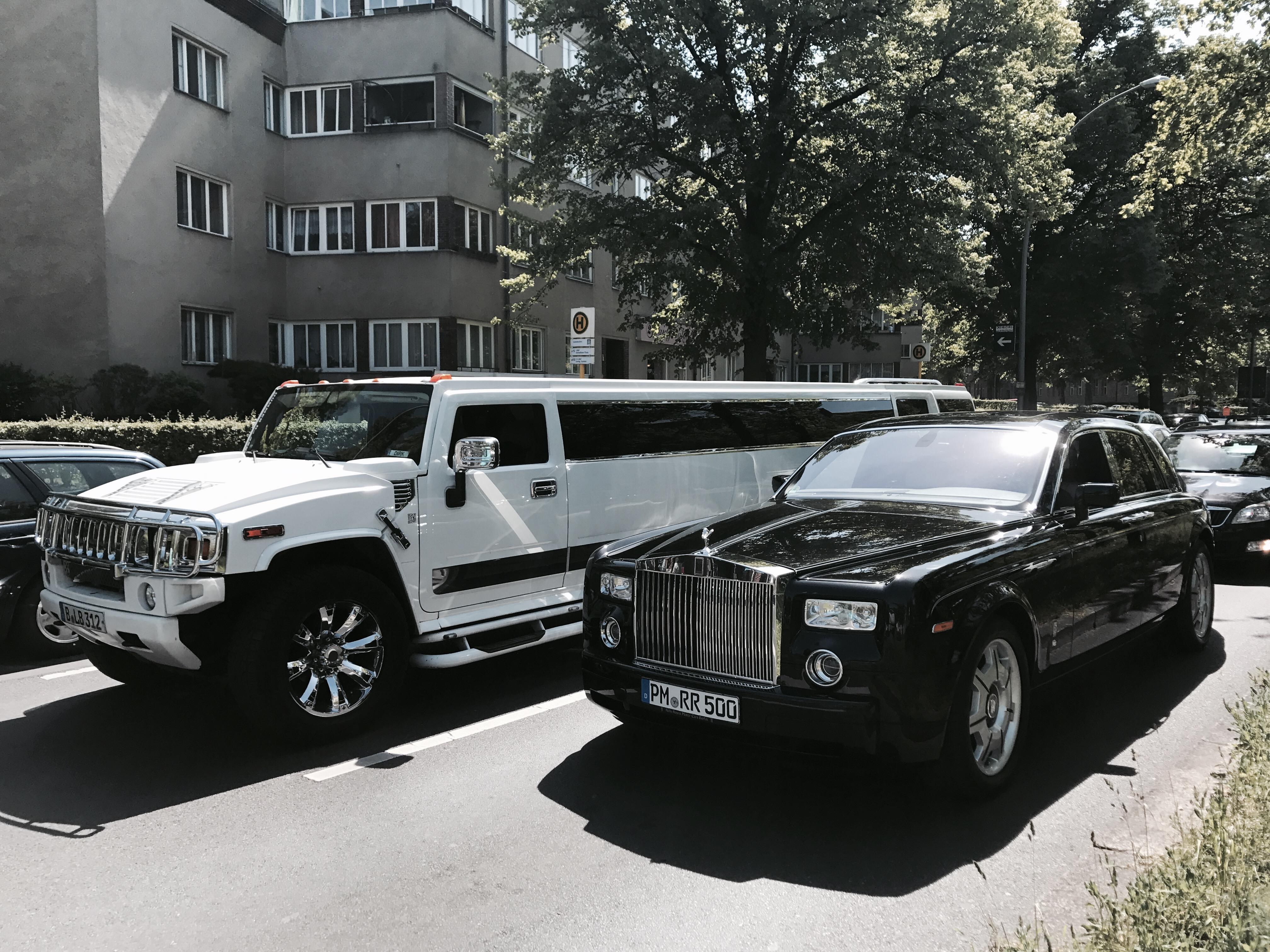 Royce Phantom oder Strechtlimousine