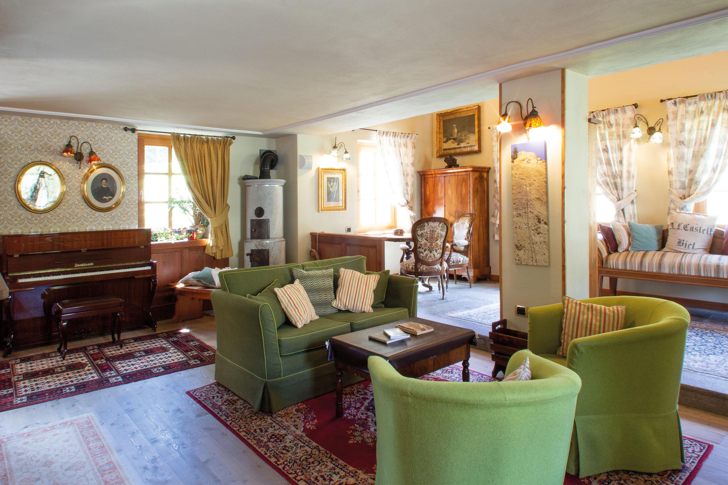 Un po' di relax, Villa Fridau