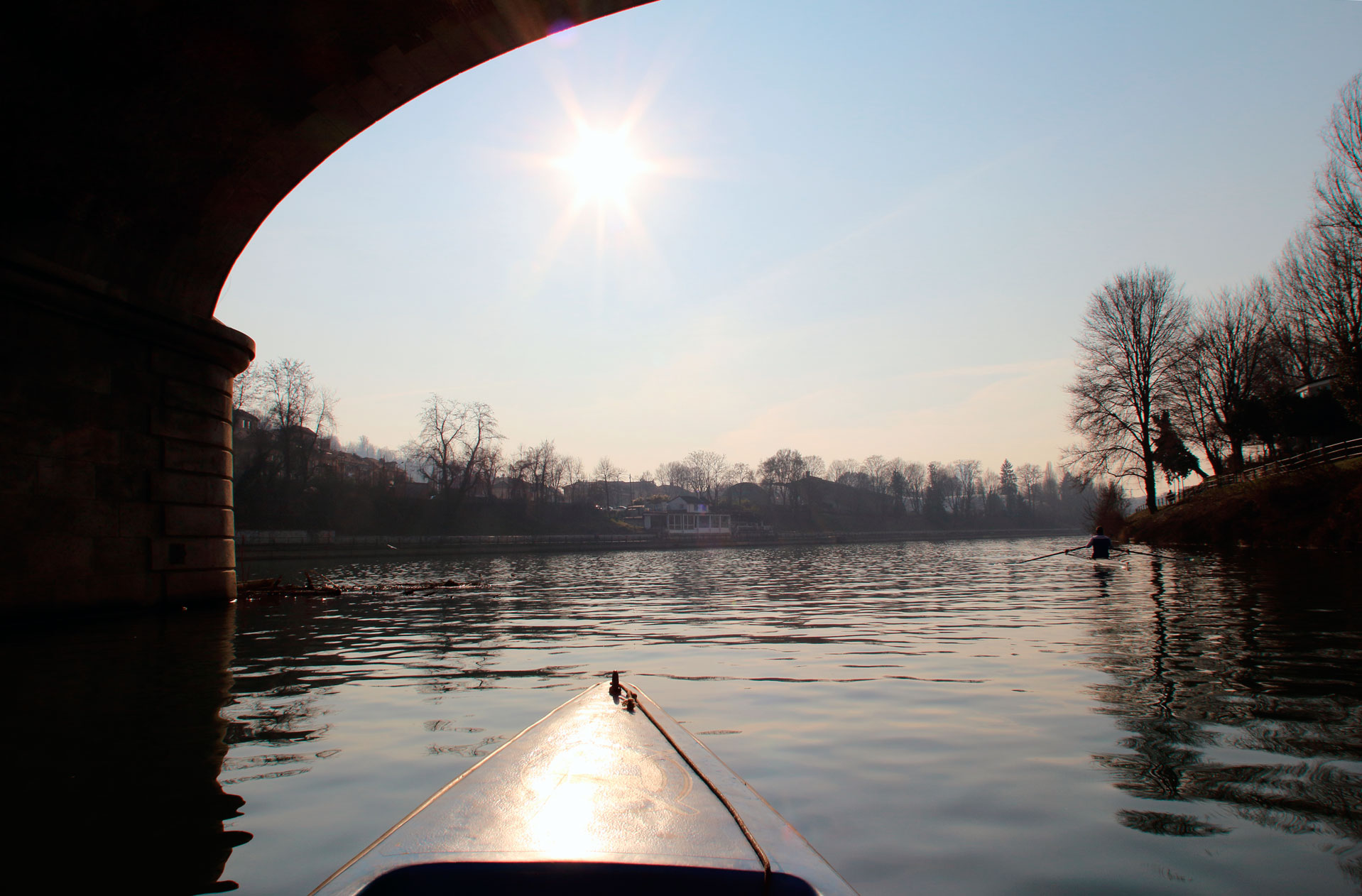 L'affascinante fiume Po