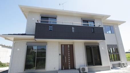 工務店さんの細かな気配りが垣間見える素敵な住宅の完成です