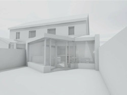 Rear elevation proposed (1)