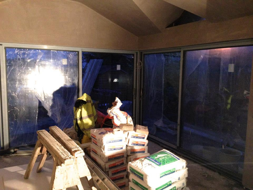 Construction - new glazing