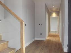 Ground level hallway
