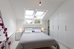 Cranked windows - new master bedroom