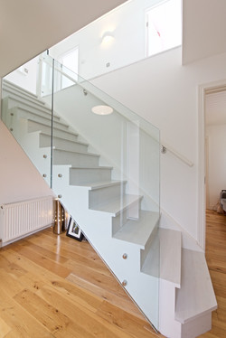 New staircase - ground to first