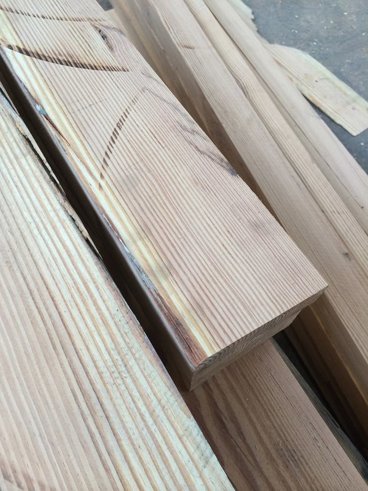 Reclaimed timber