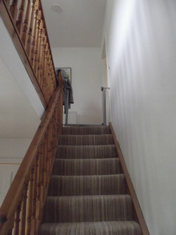 Ground to first level staircase
