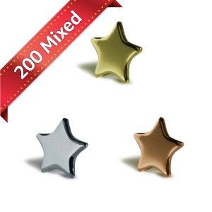Mix bag Stars 13mm - x200