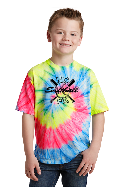 Neon Rainbow Youth Tee
