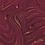 Thumbnail: Pleated Cotton Mask - Burgundy Oil Slick
