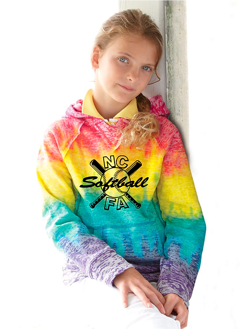 MV Sport - Girls' Courtney V-Notch Sweatshirt