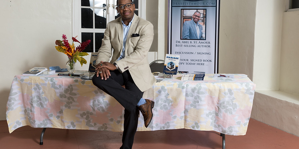 Meet & Greet: Dr. Abel B. St. Amour, Newly Released Book.
