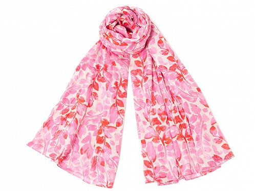 Pink Branches Scarf by Sophia Costas