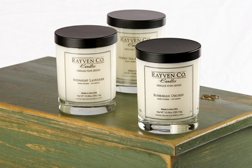 Rayven Co. Candles 10.75 oz