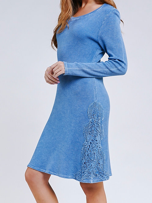 Suzette Dress in Chambray