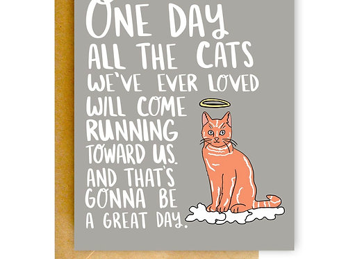 All the Cats Greeting Card