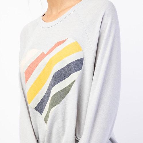 Striped Corazon Pullover