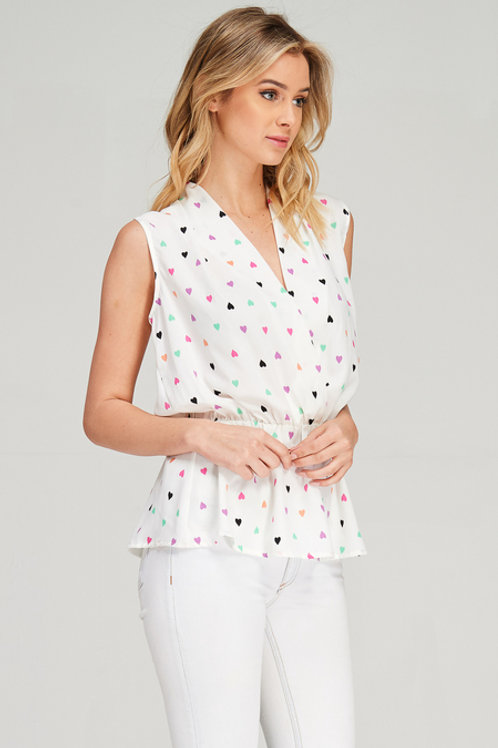 Love Never Fails Sleeveless Blouse