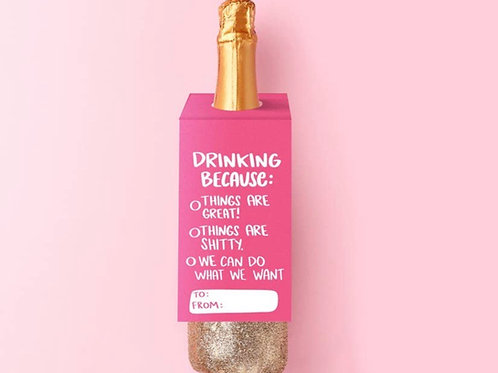 Drinking Because Wine Tag