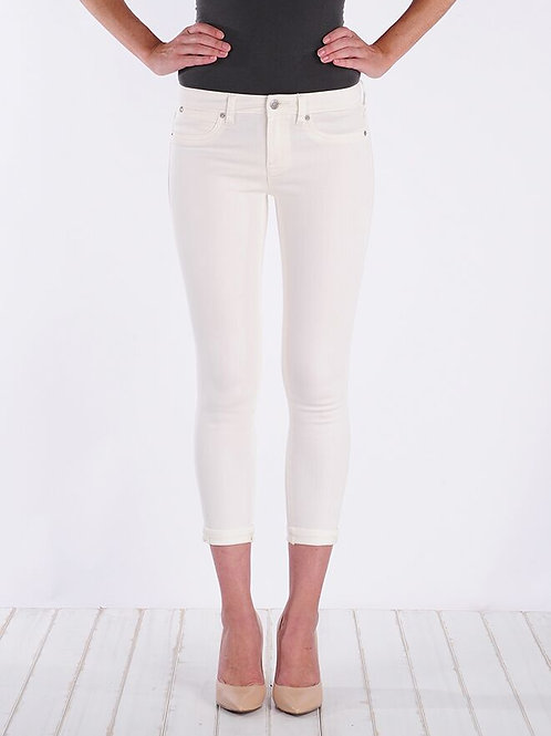 Henry & Belle Cropped Skinny in Parchment