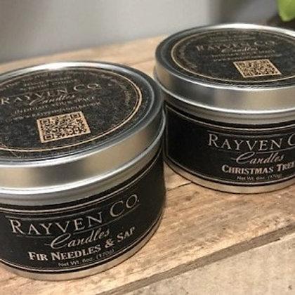 Rayven Co. Candle Travel Tin 6 oz