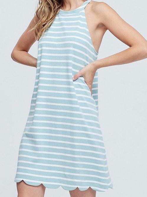 Quinn Scalloped Dress