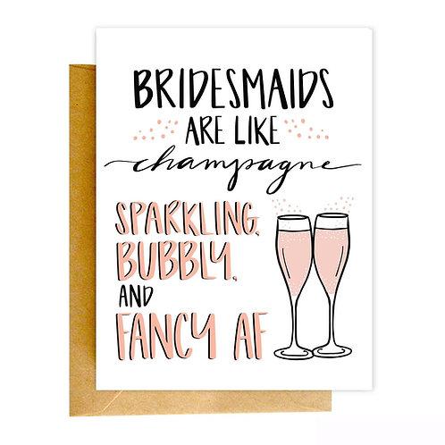 Bridesmaids Greeting Card
