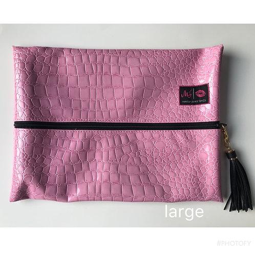Makeup Junkie Bags in Blush