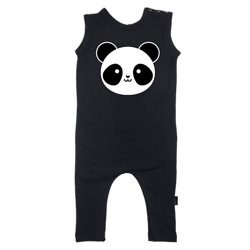 Kawaii Panda Romper