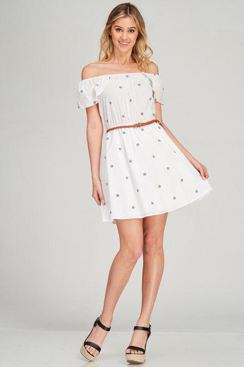 Emmeline Off-the-Shoulder Dress