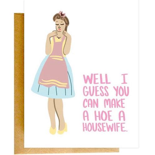 Ho Housewife Congratulations Card