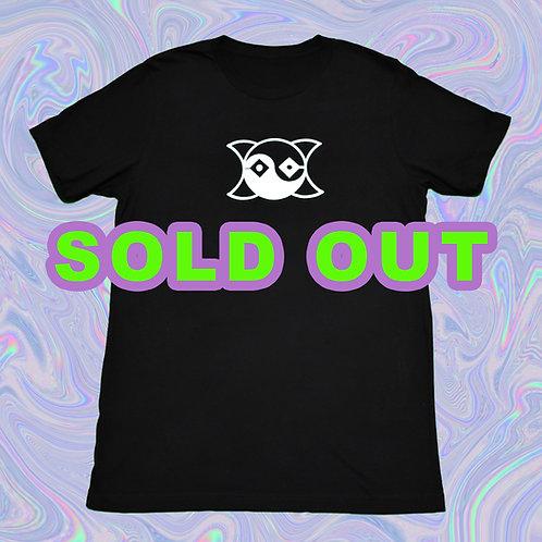 ÖD White Logo Black T-Shirt
