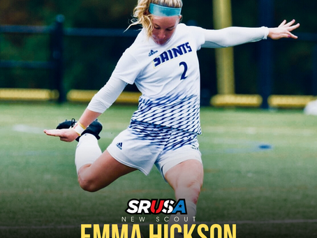 New Scout - Former All Region Student Athlete Emma Hickson Joins SRUSA