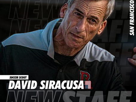 NEW STAFF: Former College Coach David Siracusa joins SRUSA as a Scout