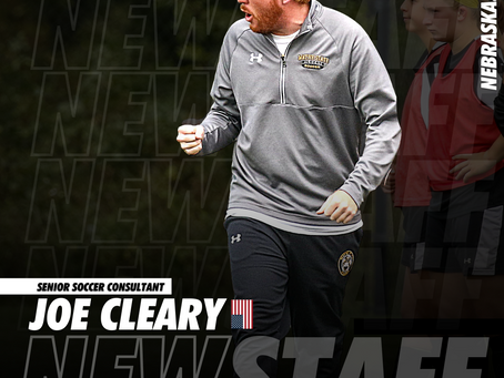 NEW STAFF: Former NCAA D2 Coach Joe Cleary joins SRUSA as a Consultant
