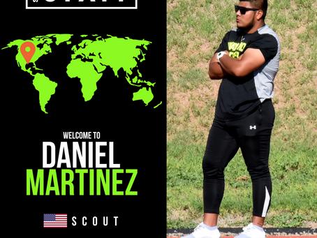NEW STAFF: National Champion Winning Coach, Daniel Martinez, joins as Scout