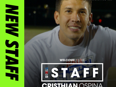NEW STAFF: National Championship Winning Coach, Cristhian Ospina joins as Consultant