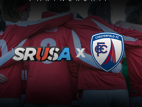 NEW PARTNERSHIP: SRUSA Announce Partnership with Chesterfield FC Women