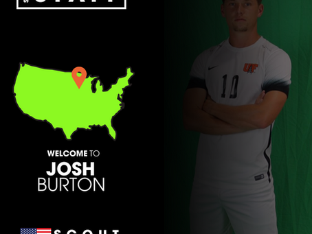 NEW STAFF: Former SRUSA Client, Josh Burton, joins as a Scout covering Ohio